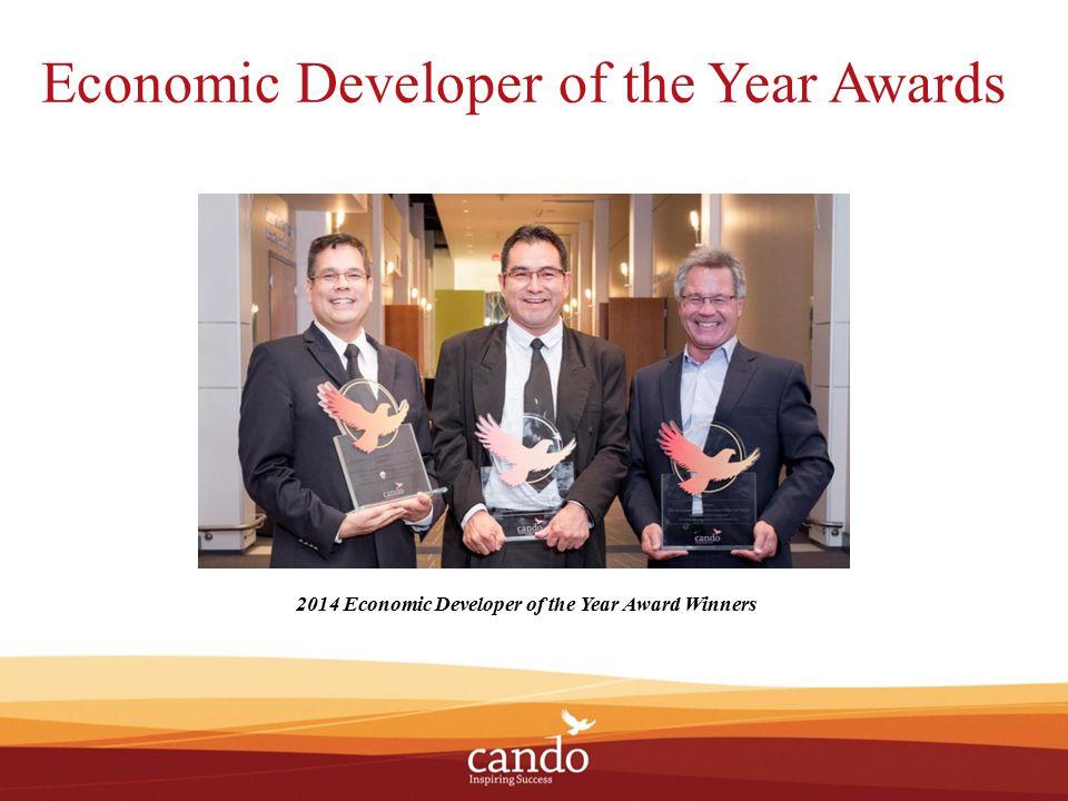 Economic Developer of the Year Awards 2014 Economic Developer of the Year Award Winners