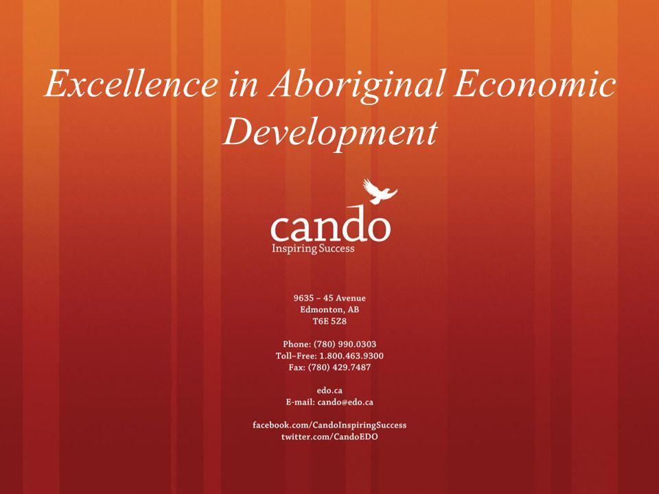 Excellence in Aboriginal Economic Development