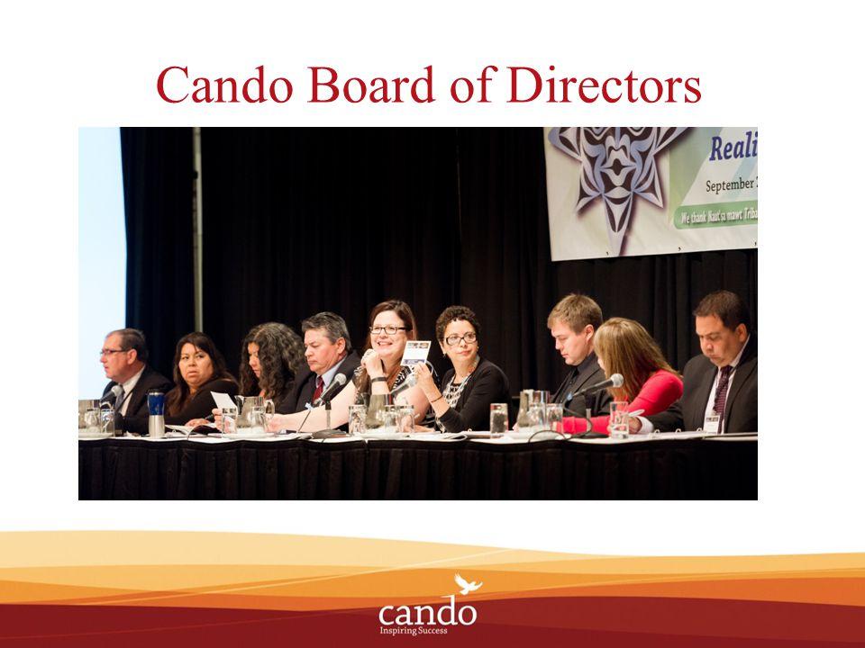 Cando Provides professional support to Aboriginal Economic Development Officers.