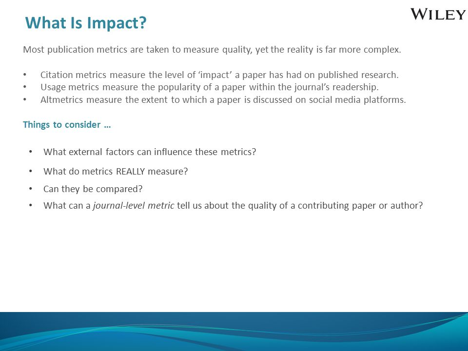What Is Impact.