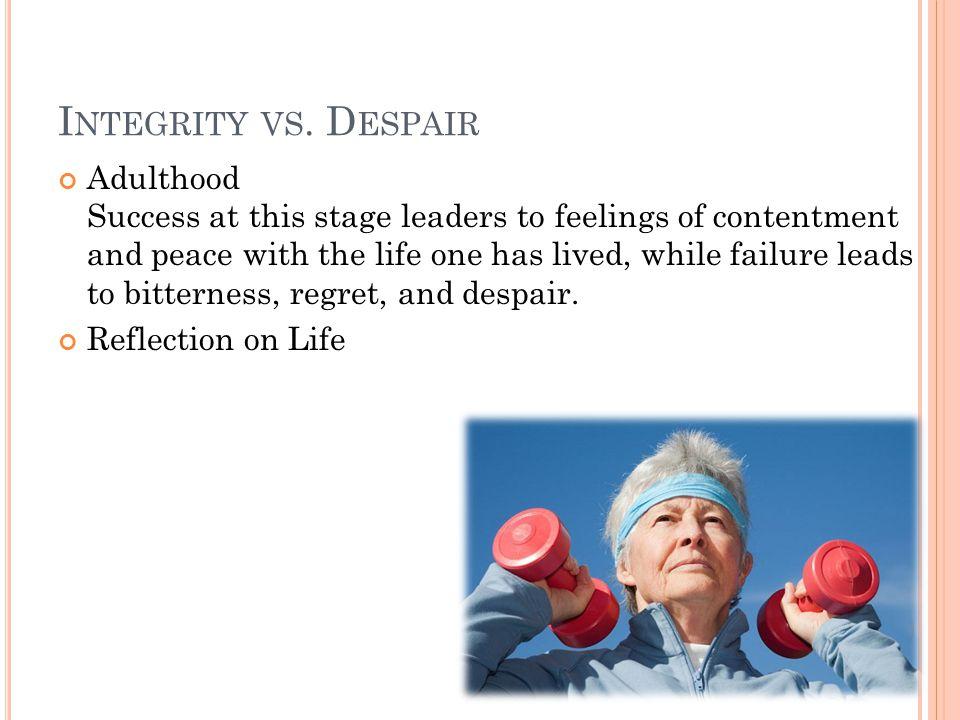 I NTEGRITY VS.