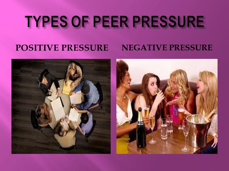 POSITIVE PRESSURE NEGATIVE PRESSURE