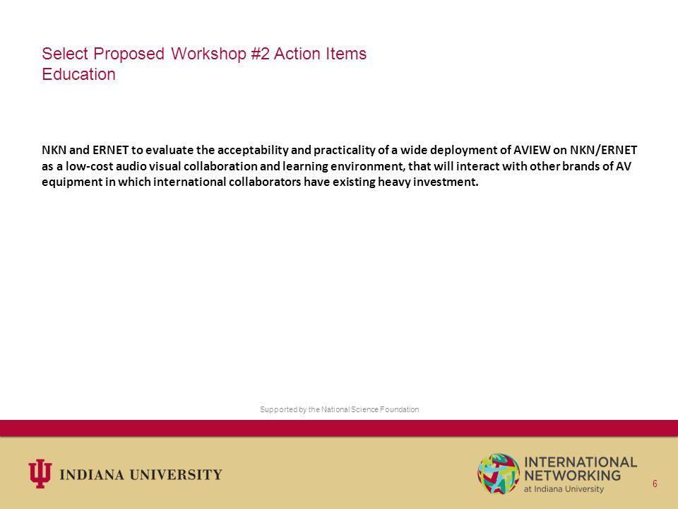 Questions/comments Websites: IRNC Program: http://irnclinks.net/http://irnclinks.net/ IN@IU: http://internationalnetworking.indiana.edu/http://internationalnetworking.indiana.edu/ Workshops: http://internationalnetworking.indiana.edu/us-india-workshop http://internationalnetworking.indiana.edu/us-india-workshop-2 Me: Jim Williams – williams@indiana.eduwilliams@indiana.edu 7 Supported by the National Science Foundation