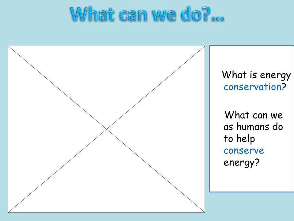 Grade B Most will be able to explain what is meant by energy conservation and how human beings can help with this.
