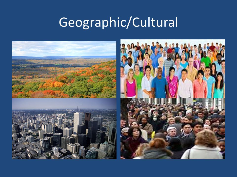 Geographic/Cultural