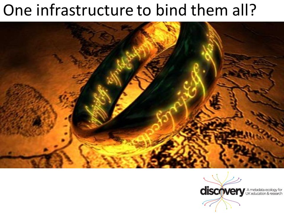 One infrastructure to bind them all?