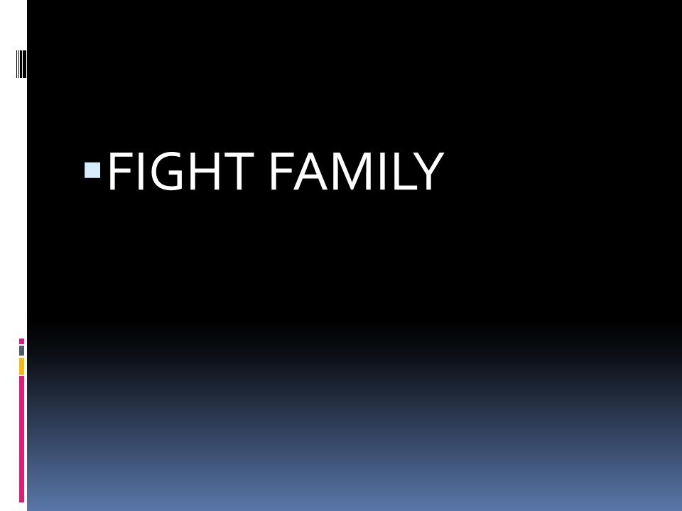  FIGHT FAMILY