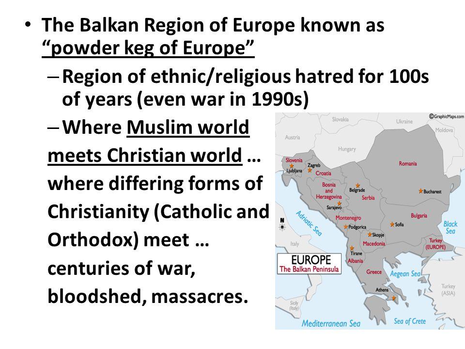 Map of the Balkan Peninsula