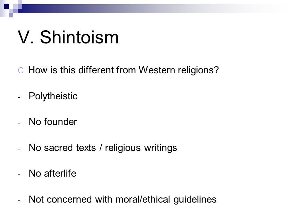 C. How is this different from Western religions.