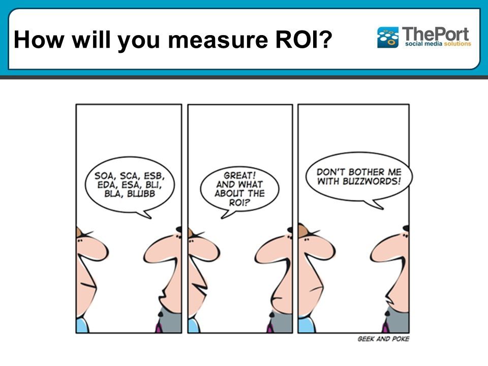 How will you measure ROI