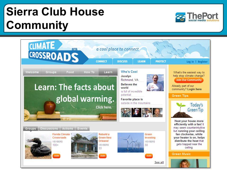 Sierra Club House Community