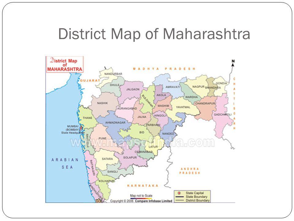District Map of Maharashtra