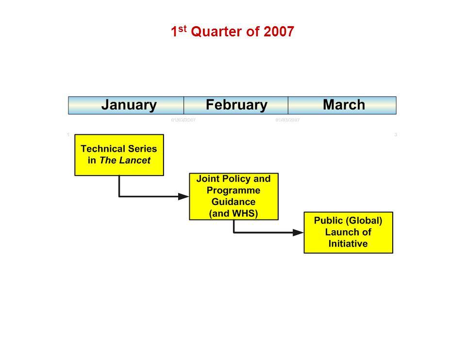1 st Quarter of 2007