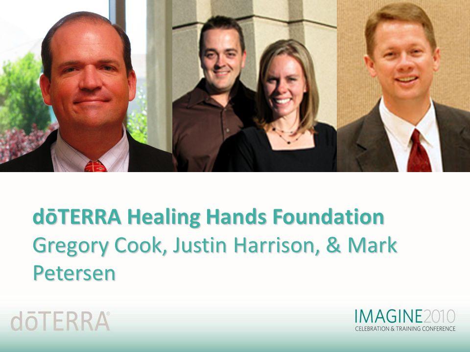 dōTERRA Healing Hands Foundation Gregory Cook, Justin Harrison, & Mark Petersen