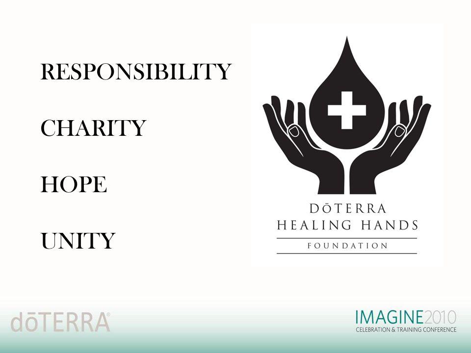RESPONSIBILITY CHARITY HOPE UNITY
