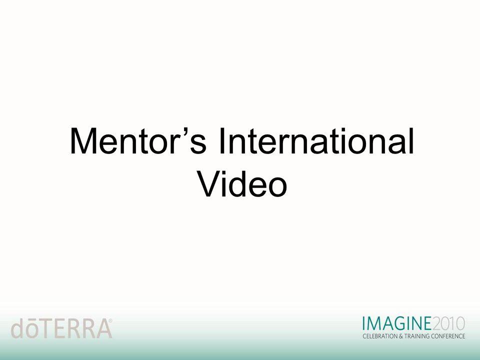 Mentor's International Video