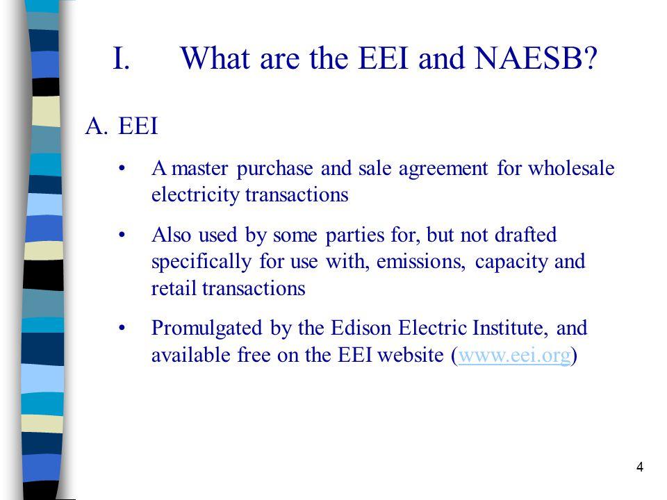 45 Liquidation Date of Liquidation Calculating Party Valuation Method –Market Quotation –Loss Net Present Value