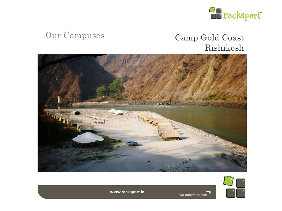 Our Campuses Camp Gold Coast Rishikesh