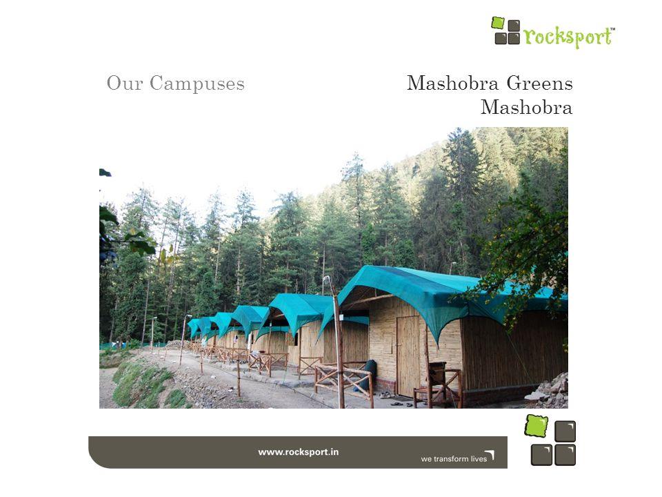 Our CampusesMashobra Greens Mashobra