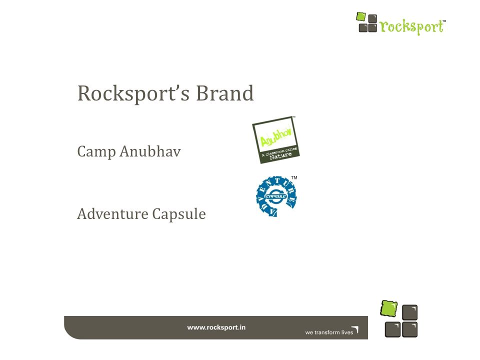 Camp Anubhav Camp Anubhav is a Wilderness Education Division of Great Rocksport Private Limited.