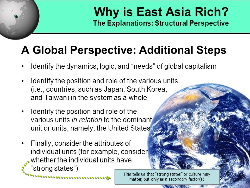 5 Why is East Asia Rich.
