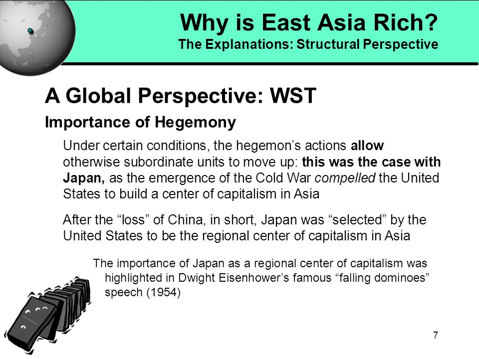 6 Why is East Asia Rich.