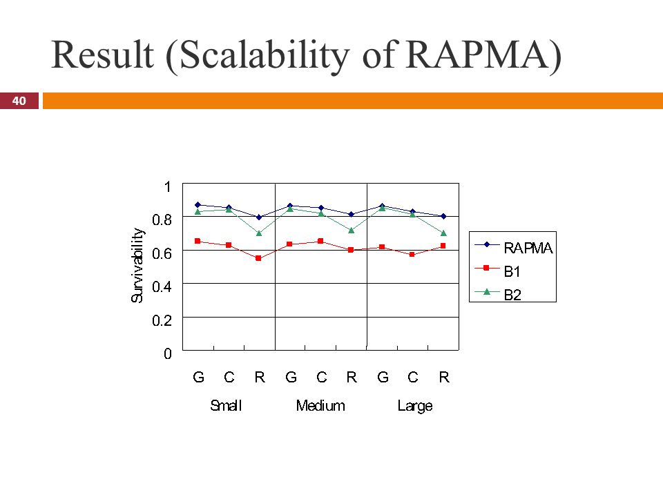 40 Result (Scalability of RAPMA)