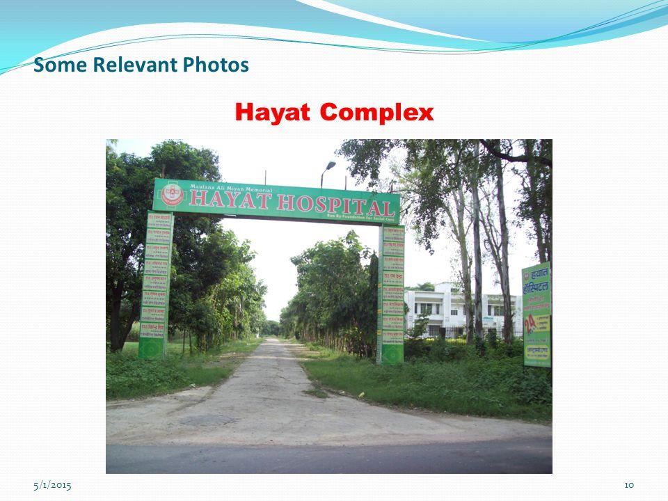 10 Some Relevant Photos Hayat Complex