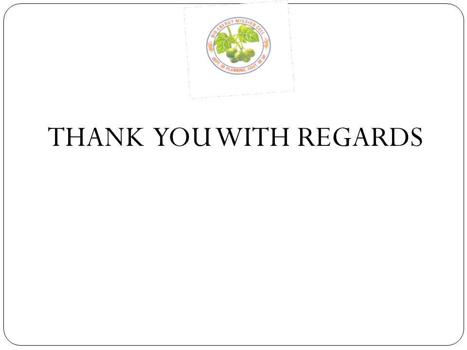 THANK YOU WITH REGARDS