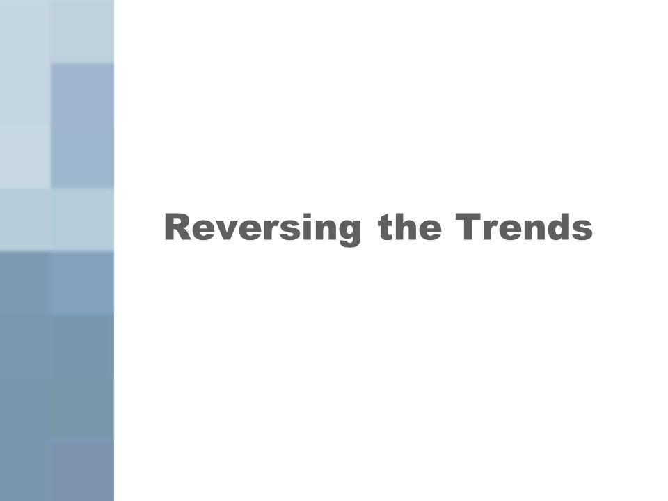 Reversing the Trends