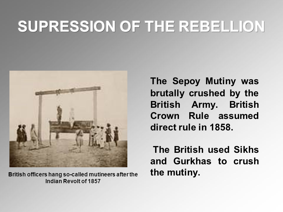 The British went to India as traders but they eventually colonized India, by deposing the Moghul rule.