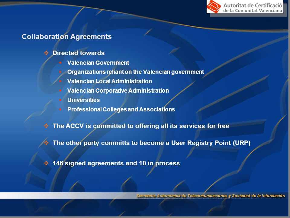 User Registry Point (URP)  URP: the place where the registry process is carried out and the DS given to the user.