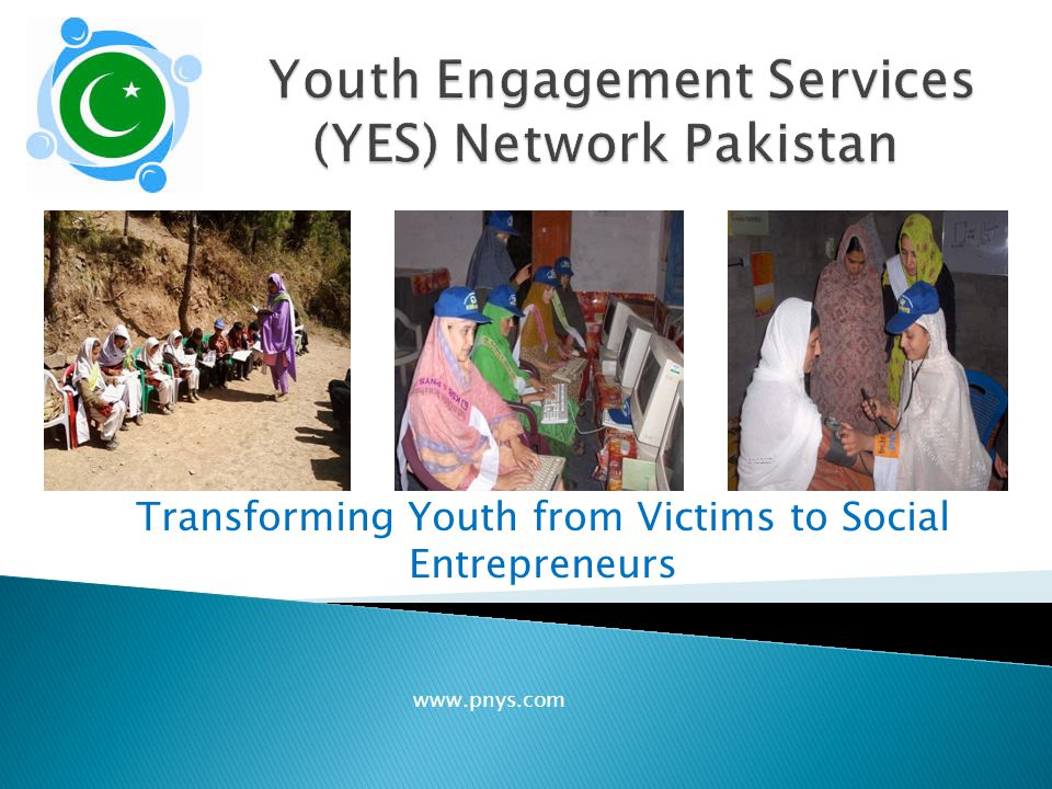  We have pioneered the concept of youth service and youth social entrepreneurship in the country.