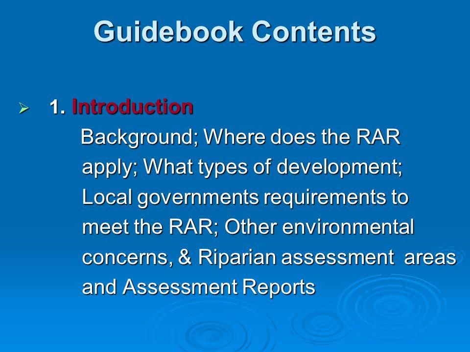 Guidebook cont. 2.