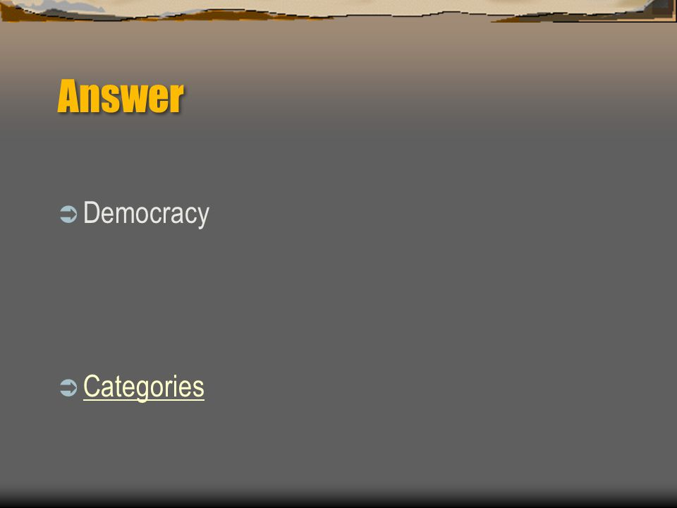 100  What is the term for a free-voting society in which each citizens' vote counts