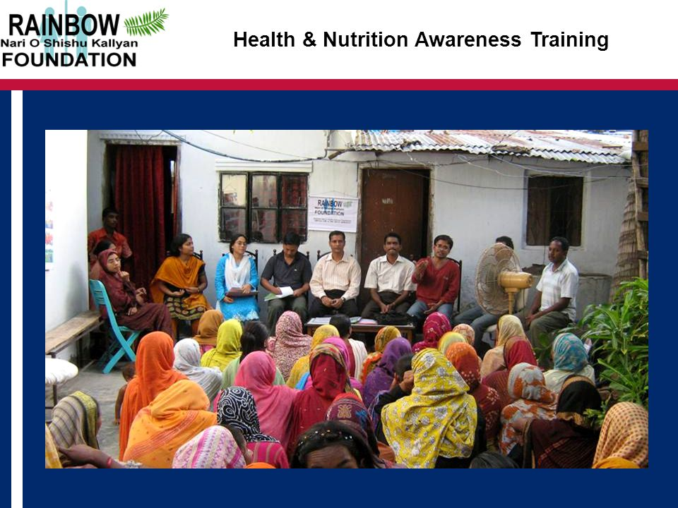 Health & Nutrition Awareness Training