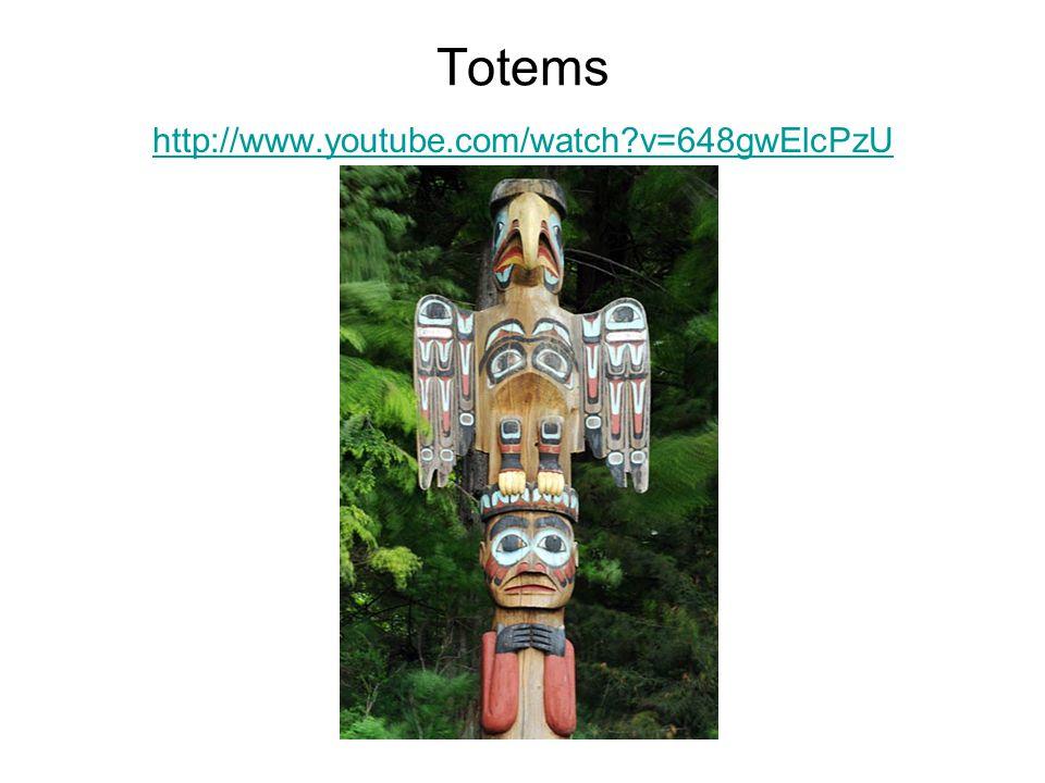 Totems http://www.youtube.com/watch v=648gwElcPzU