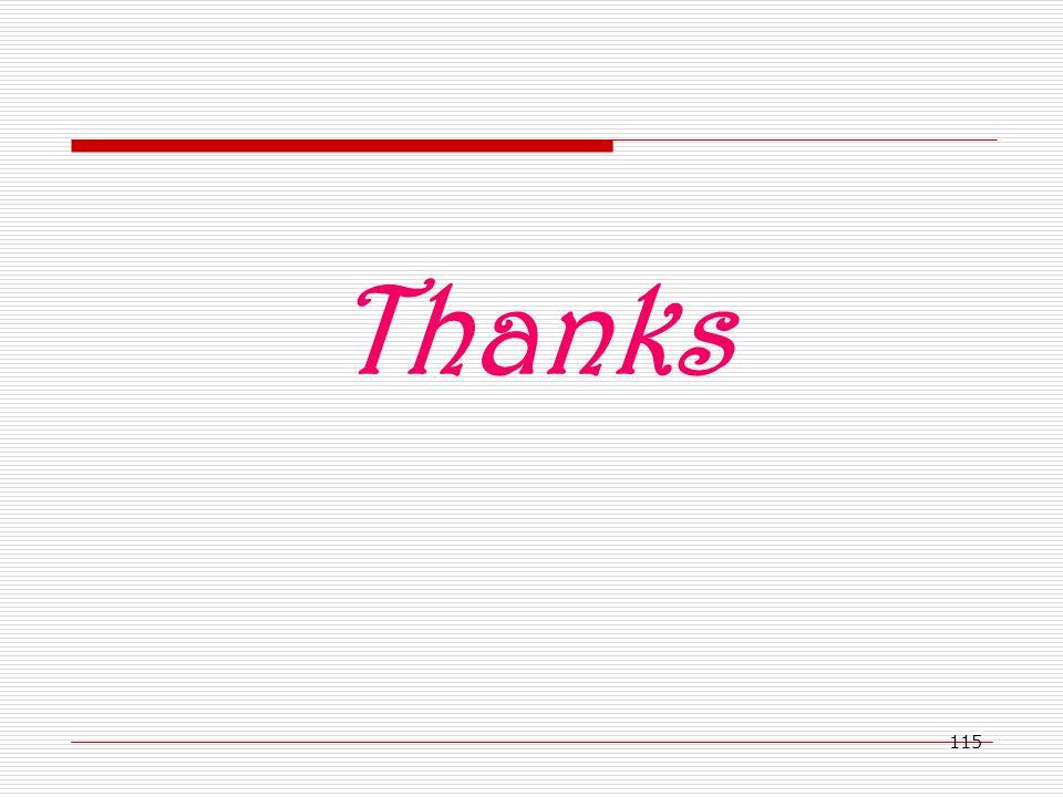 115 Thanks