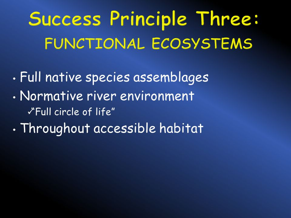We share the fish; we share their management Do so wisely US v OR Management Agreement compliance Tribal member employment General public support and understanding of hatchery management tool