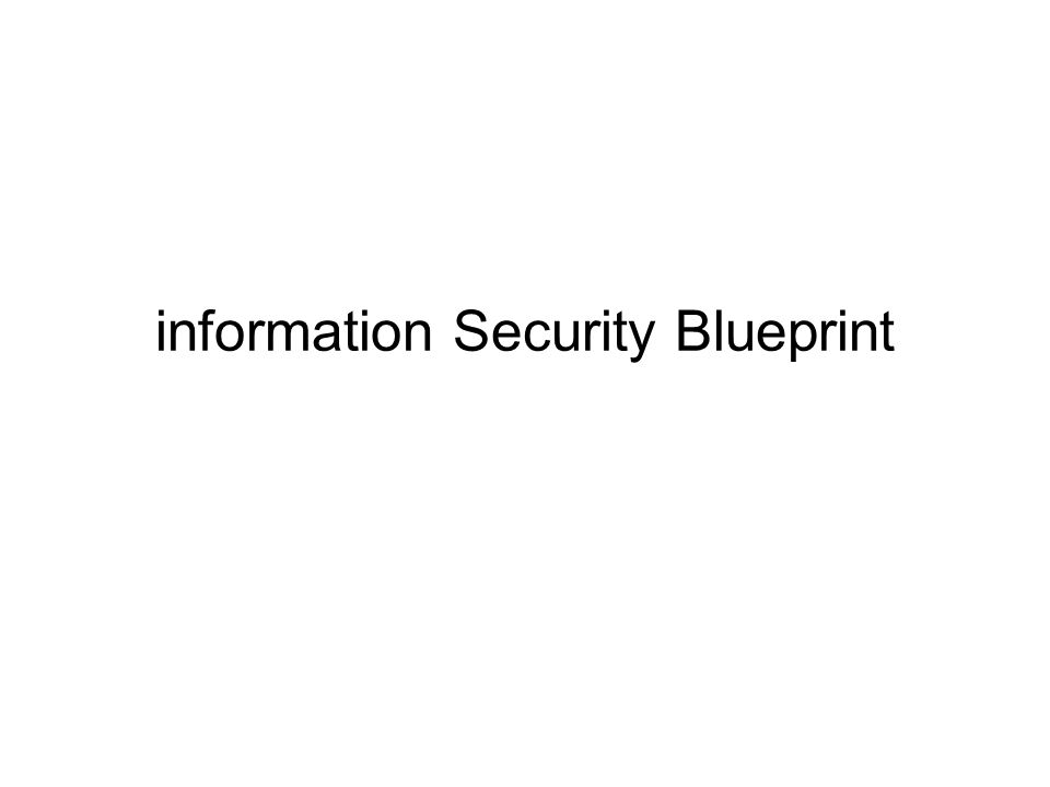 Describe management's role in the development, maintenance, and enforcement of information security policy, standards, practices, procedures, and guidelines Understand what an information security blueprint is, what its major components are, and how it is used to support the information security program Understand how an organization institutionalizes its policies, standards, and practices using education, training, and awareness programs Objectives