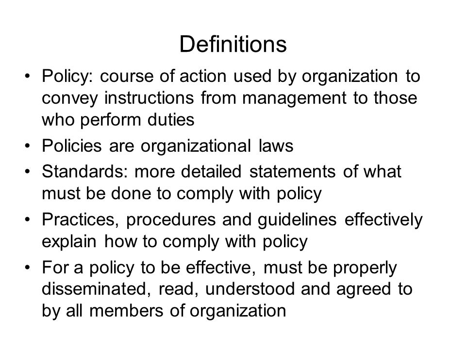 NIST Special Publication 800-14 Security supports mission of organization; is an integral element of sound management Security should be cost-effective; owners have security responsibilities outside their own organizations Security responsibilities and accountability should be made explicit; security requires a comprehensive and integrated approach Security should be periodically reassessed; security is constrained by societal factors 33 Principles enumerated