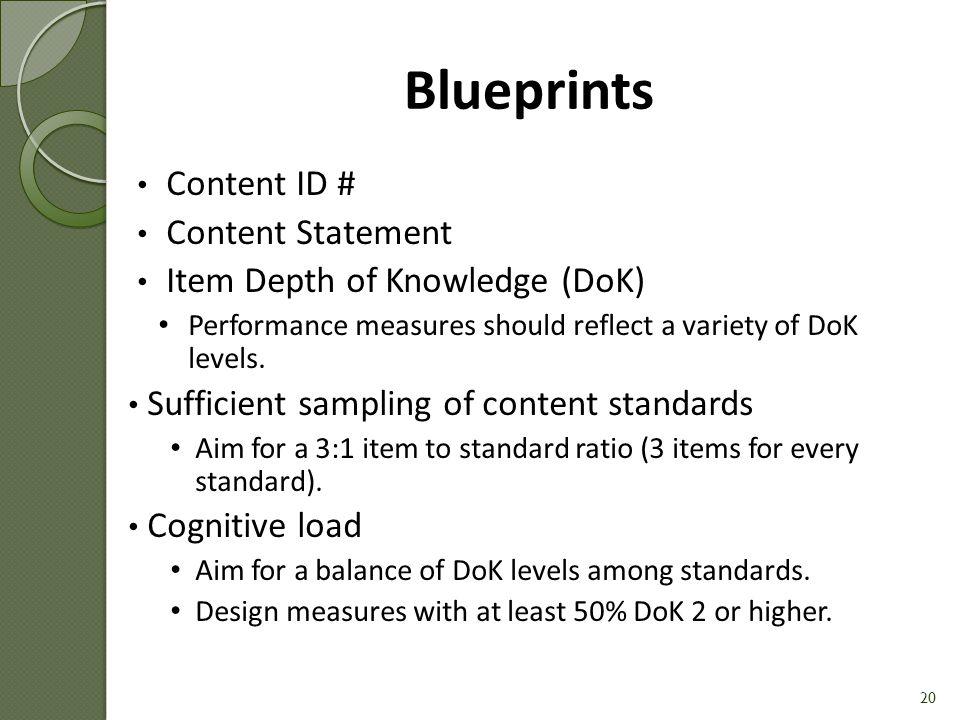 Blueprint Example [Handout #3] 21