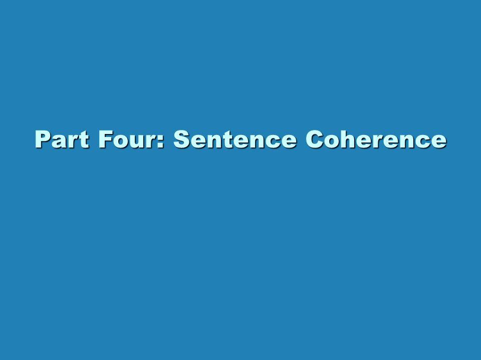 BLUEPRINT has four parts. LeadsLeads Clueing SentencesClueing Sentences Paragraph TransitionsParagraph Transitions Sentence CoherenceSentence Coherenc