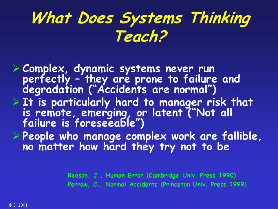  What Does Systems Thinking Teach.