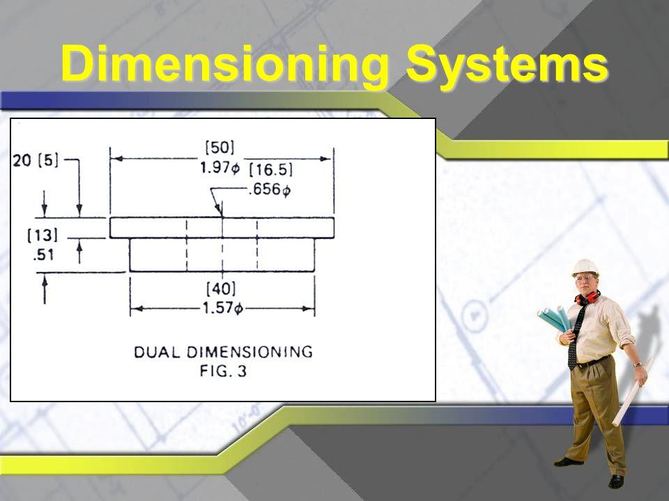Decimal Dimensioning.50 may have tolerance of ±.01.500 may have tolerance of ±.001.5000 may have tolerance of ±.0001