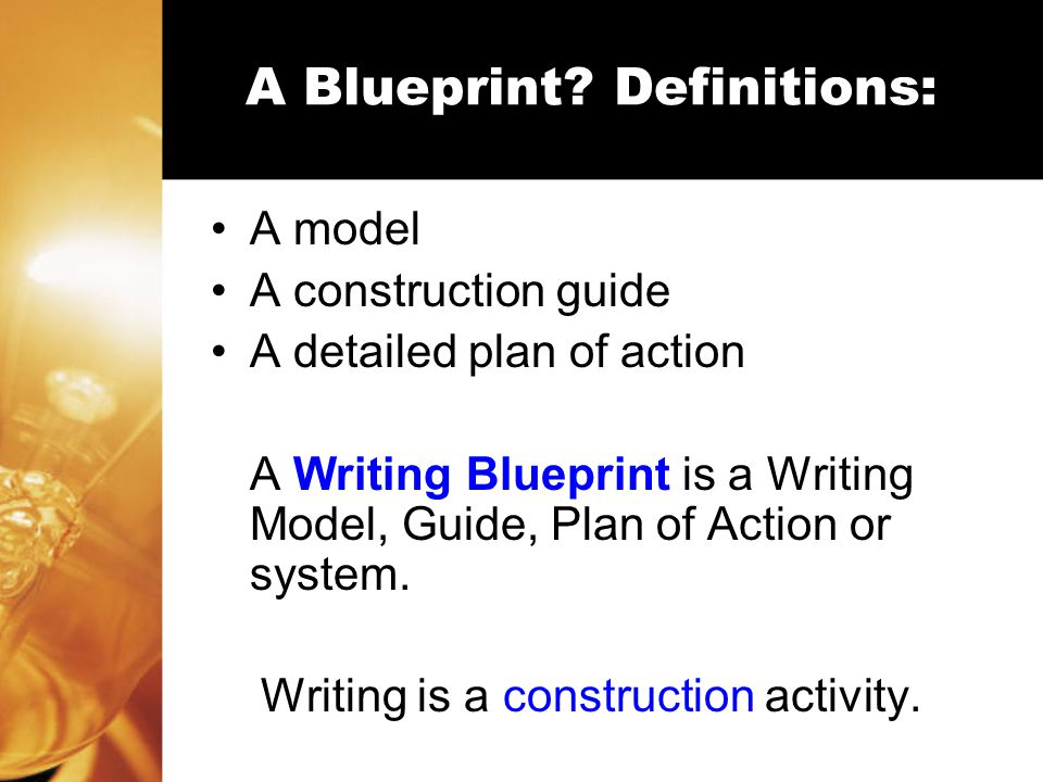 Paragraph and paper planning using a writing blueprint created a blueprint malvernweather Images