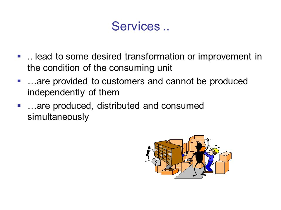 Services.. ..