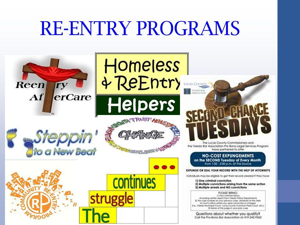 RE-ENTRY PROGRAMS