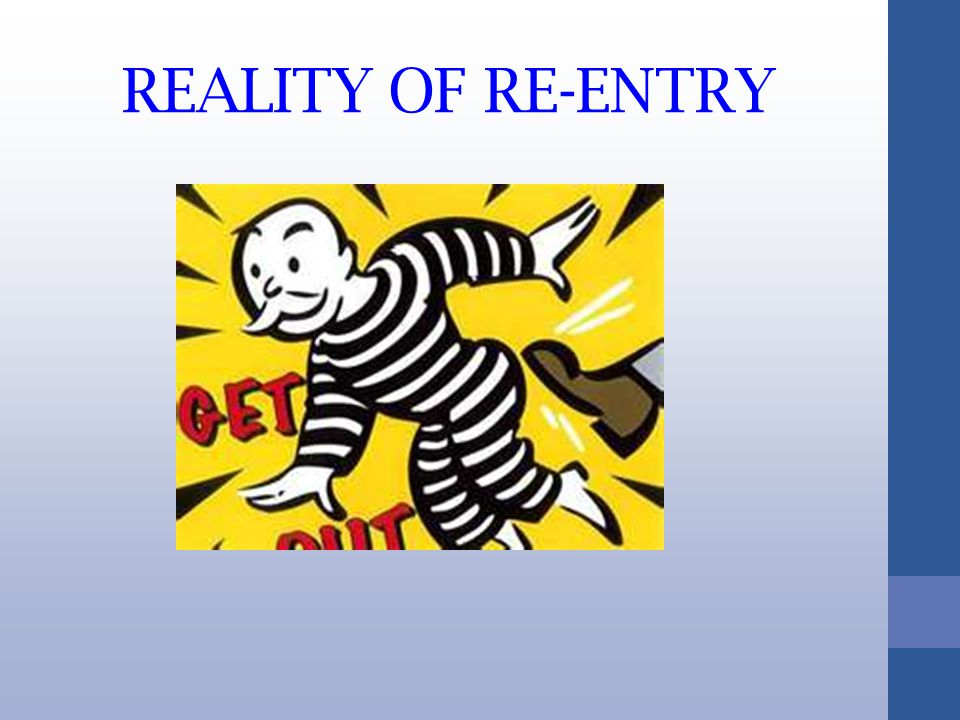 REALITY OF RE-ENTRY