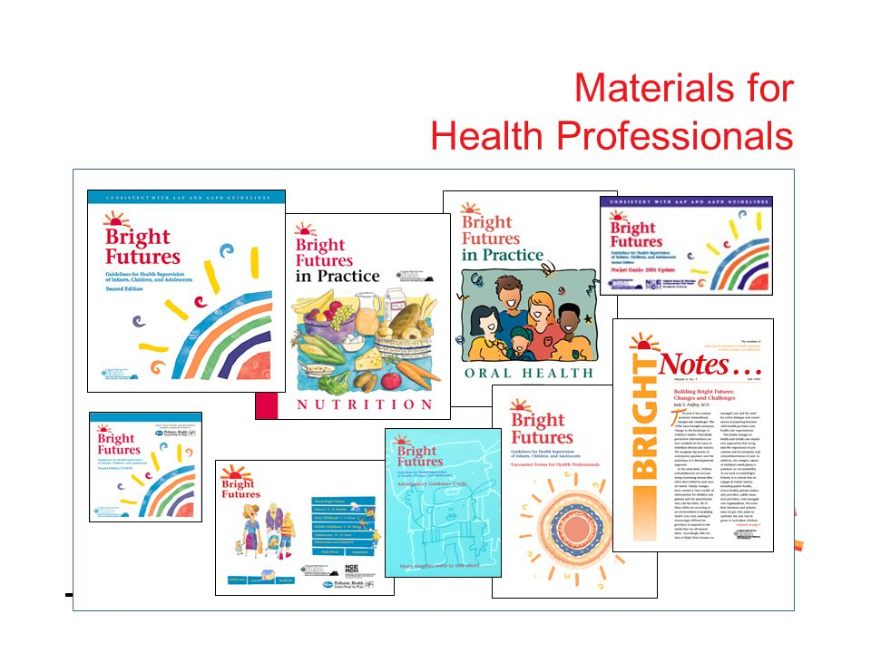 Materials for Health Professionals